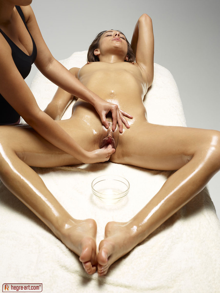 Naked nude sex massage